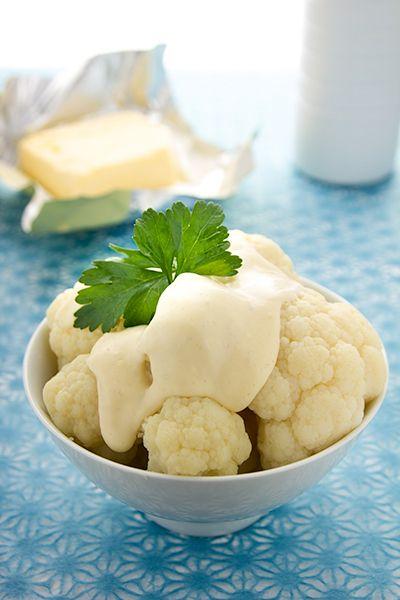 Bloemkool met witte saus