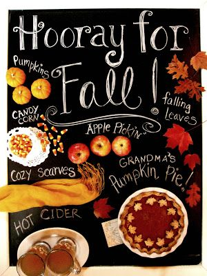 Hooray for fall!