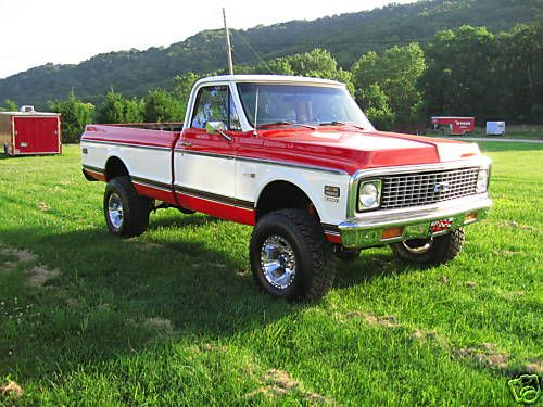1985 chevy 4x4 | Viewing Auction #130237342353 - 1971 chevrolet 2500 4x4 3/4 ton k20 ...