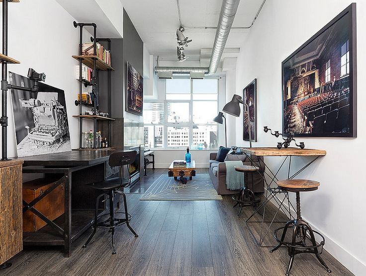 27 Ingenious Industrial Home Offices with Modern Flair. Best 25  Industrial home offices ideas on Pinterest