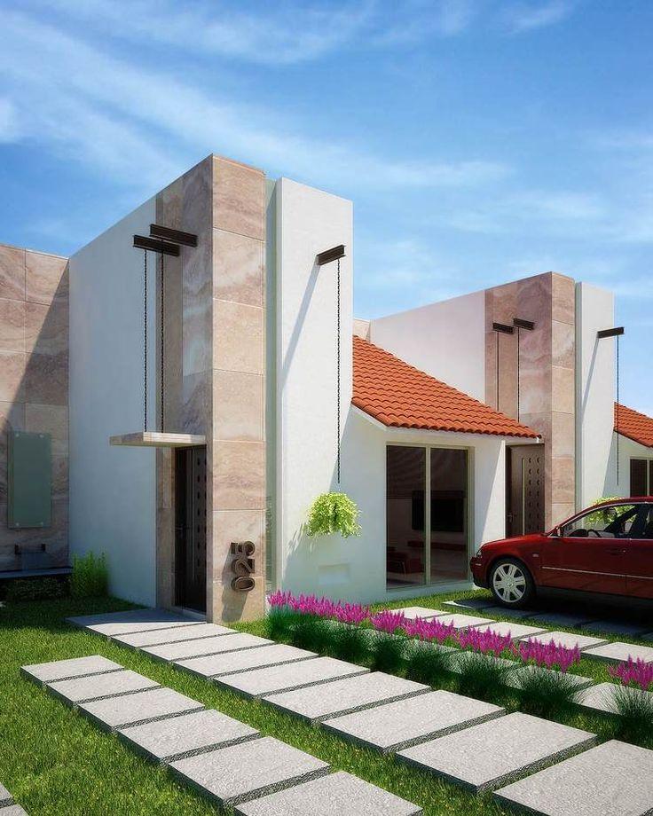 Fotos e im genes de fachadas mexicanas y casas con estilo for Ideas para remodelacion de casas