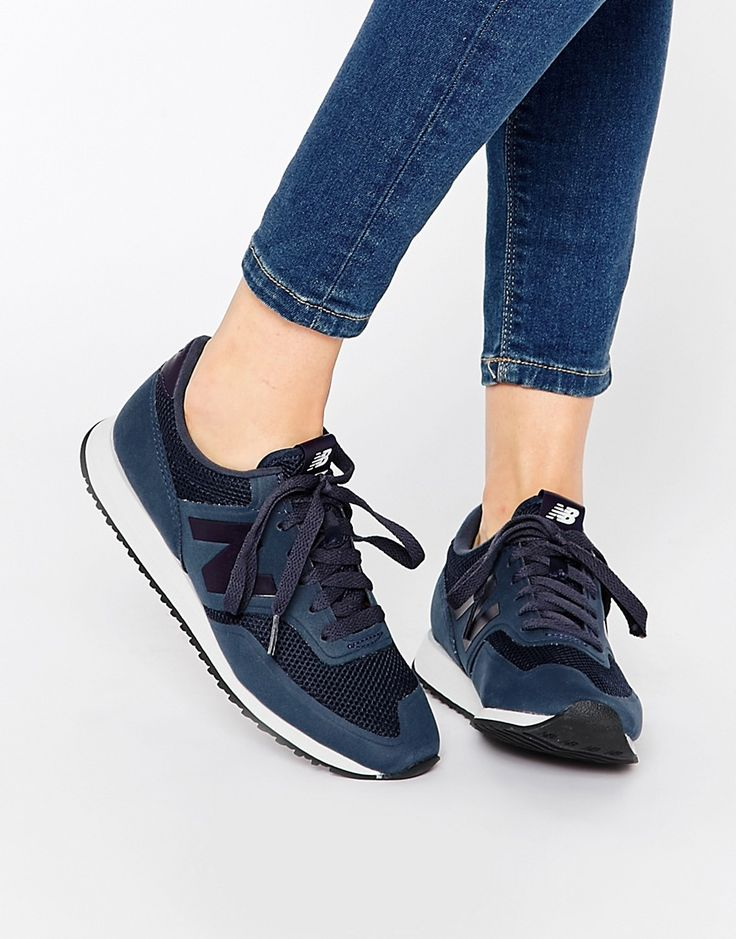 Image 1 of New Balance 620 Navy trainers