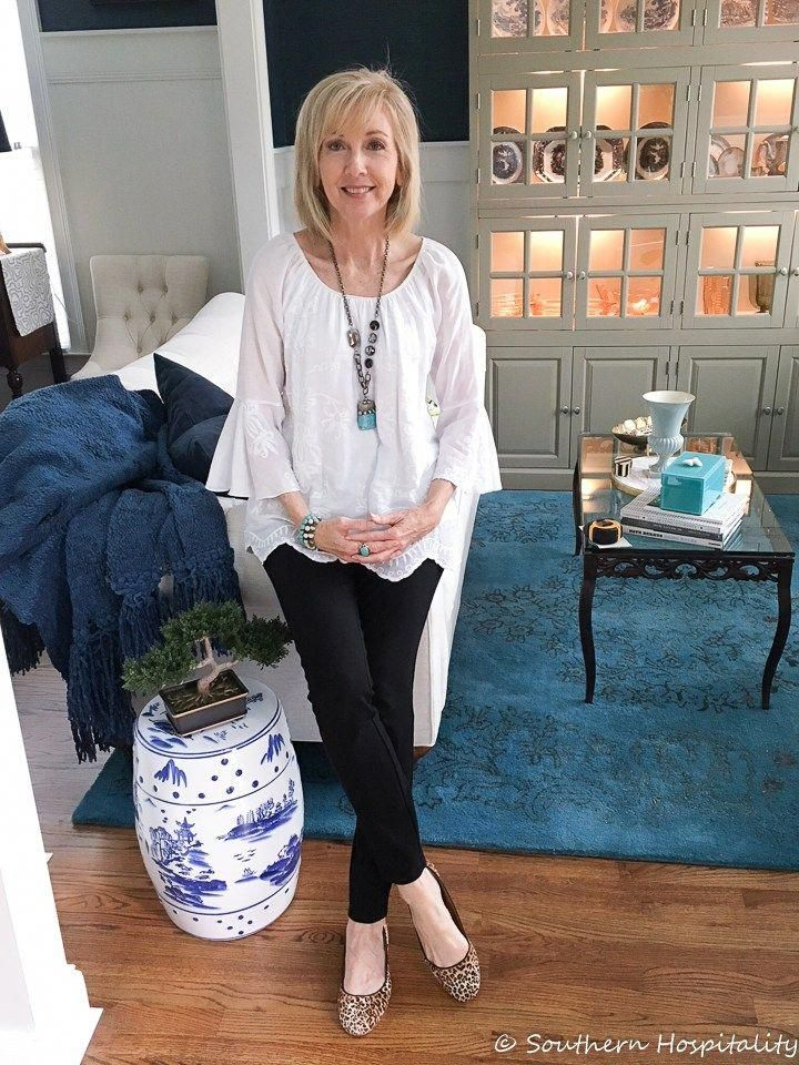 2187e357f88 Fashion over 50  Casual Spring Looks - Southern Hospitality   fashionforwomenover50over50casual