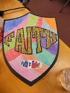Hands On Bible Teacher: Armor of God Exploring Bible History New Testament Lessons 4. Making the shield of faith.
