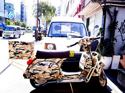 """meoutfit : meoutfit # 626 """"Vespa PX Camouflage"""""""