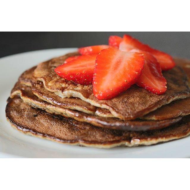 #panquecas #pancakes sem farinha. Video da receita no #youtube : Joanabbl