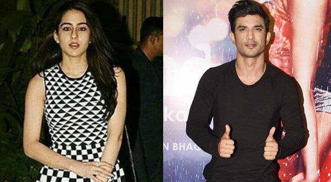"""Mumbai: Saif Ali Khan's daughter Sara Ali Khan is all set to make her acting debut opposite Sushant Singh Rajput in """"Kedarnath"""". The film will be helmed by Abhishek Kapoor, who has directed Sushant in his debut movie """"Kai Po Che"""". """"Sara has been roped in to..."""