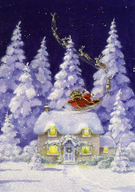But I heard him exclaim, as he drove out of sight, Merry Christmas to All - and to all, a Good Night!