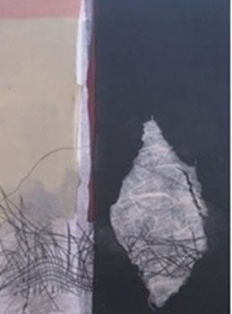 Susan Hurrell-Fieldes, Layers of Her 1, monoprint