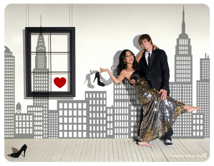 29 best New York prom images on Pinterest Theme parties Themed