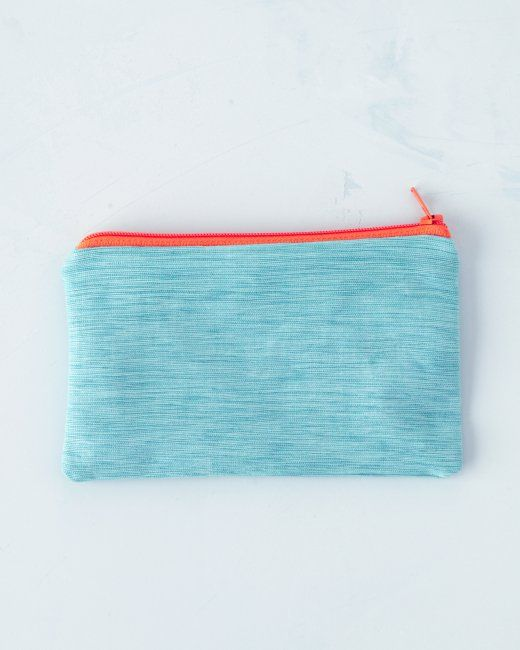 Zippered Fabric Pouches