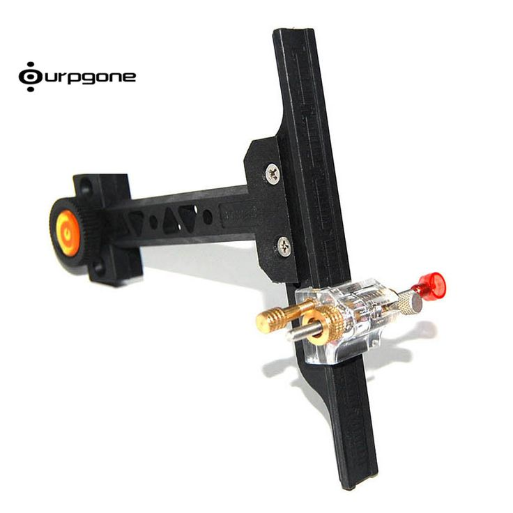 Archery Recurve Bow Sight with PVC Material Hunting Shooting Training Target Practice Archery Chasse Bow Sight Accessories