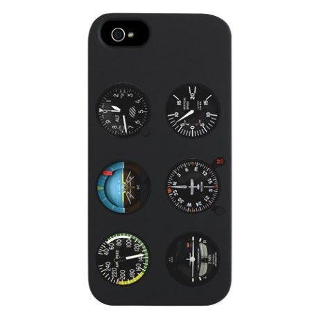 Flight Control Panel iPhone 5 Case