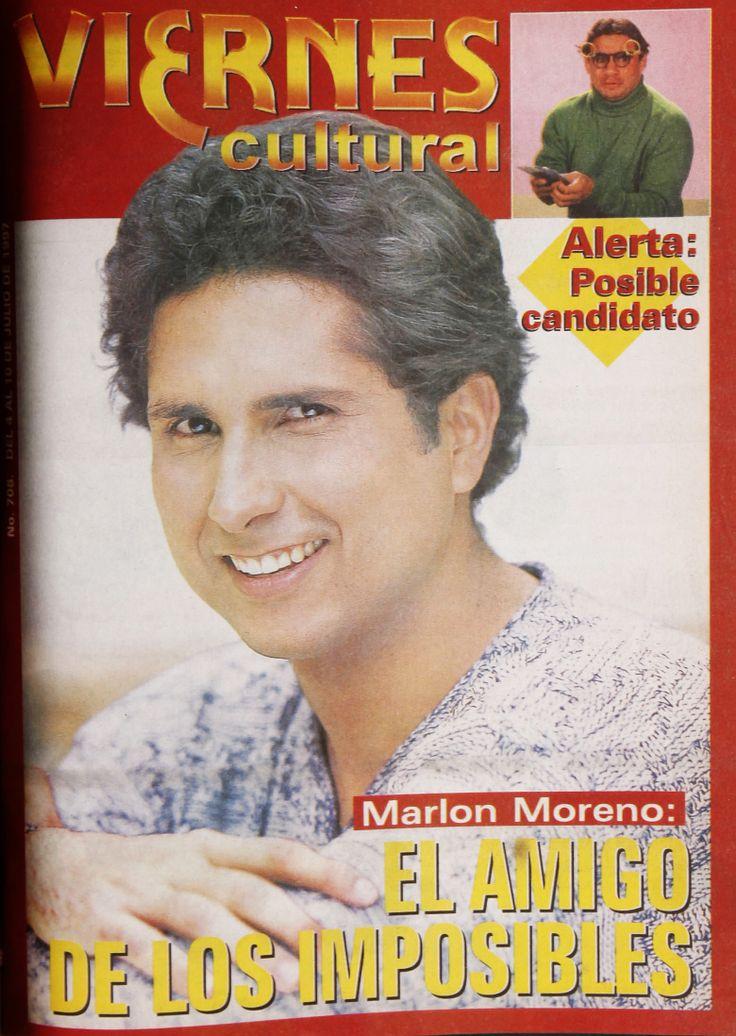 Marlon Moreno en la #RevistaViernes30años
