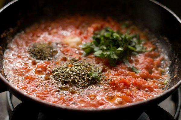 basic tomato pizza sauce recipe, how to make tomato pizza sauce recipe