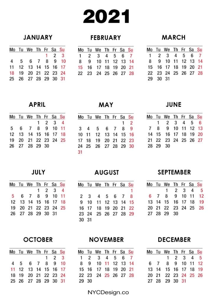 Calendar 2021 Usa Holidays in 2020 | Calendar printables