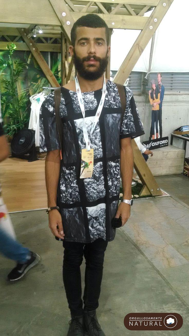 Camisetas de algodón, #StreetStyle en Colombiamoda 2014