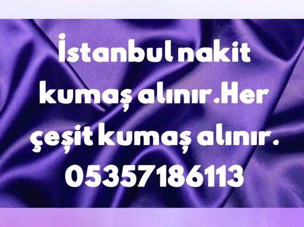 kumaş alanlar 0535718613,İstanbul kumaş alanlar