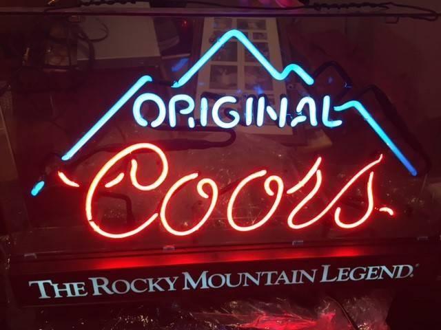 Coors Light Neon Sign Gl