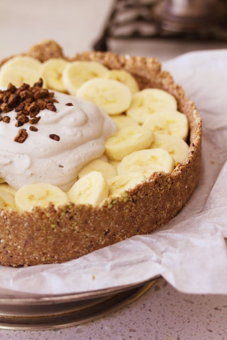When is banoffee pie not naughty? When it is Raw Banoffee Pie. The iconic Aussie pie, cleaned up for you, so there is no guilt in the second piece.