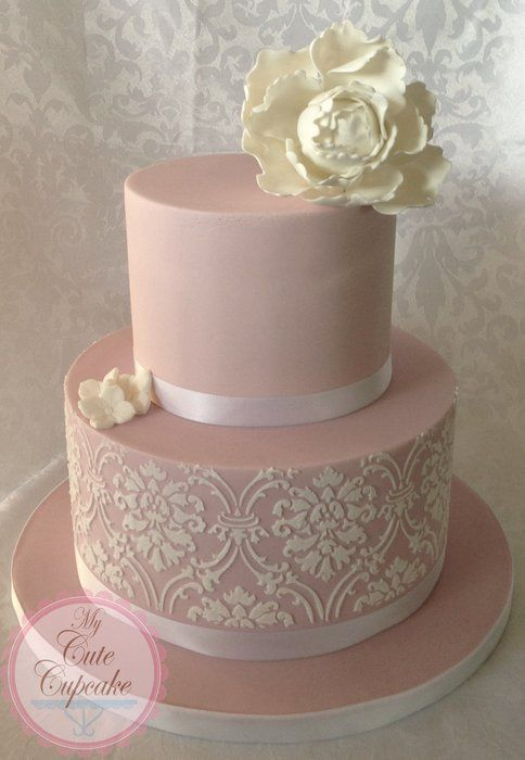 76 Best Pink Silver And Gold Wedding Images On Pinterest
