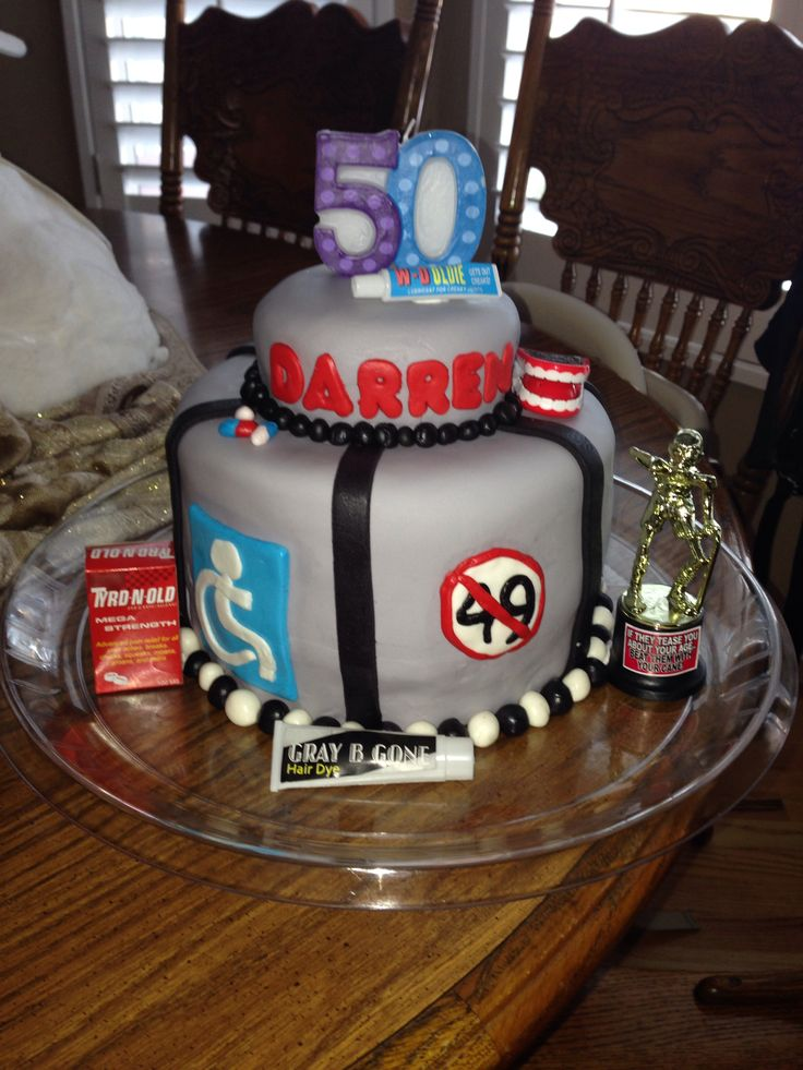 50th birthday cake for my dad Twins are turning 50