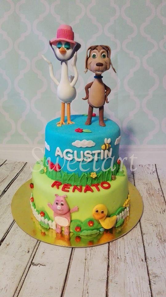 El Perro Chocolo cake.