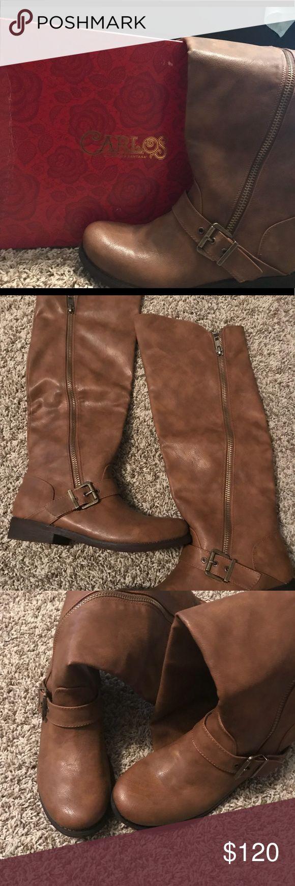 Carlos Santana boots size 8 New Carlos Santana boots size 8 adorable 💕 Carlos Santana Shoes