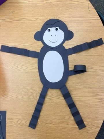 Gorilla Craft for Zoo Theme - to go with Goodnight, Gorilla.