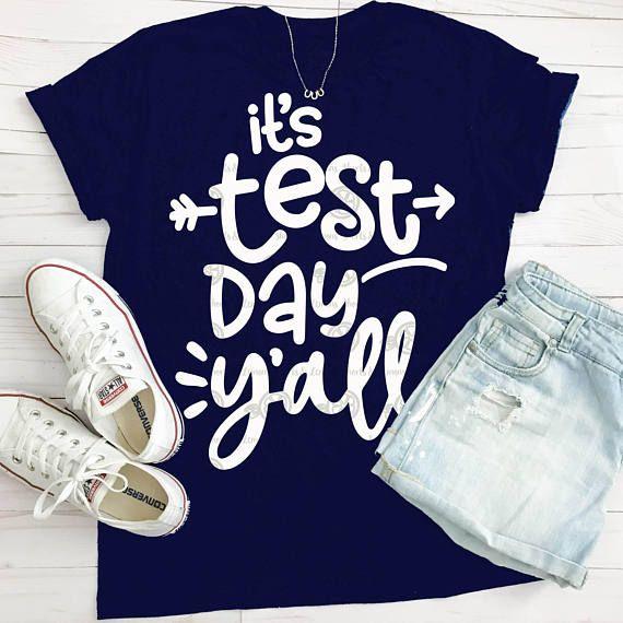 Teacher SVG, TEACHER shirt, test day svg, teacher, svg, dxf,