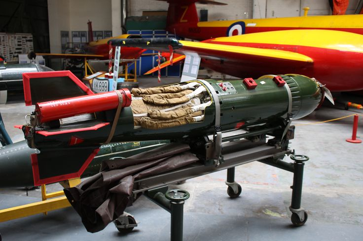 WE 177, UK Nuclear Weapon. Boscombe Down Aviation Collection - January 2015.