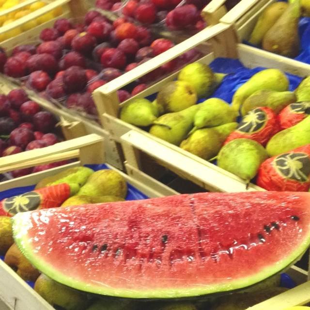 Nombres de frutas en español