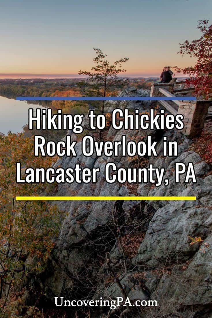 Hiking to Chickies Rock in Lancaster County