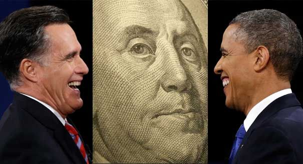 Obama: $1.123 billion vs. Romney: $1.019 billion. That's the final fundraising tally in the most expensive presidential election ever, according to reports filed Thursday with the Federal Election Commission by the rival campaigns and party committees. And that doesn't include an explosion of late advertising funded by last-minute checks...