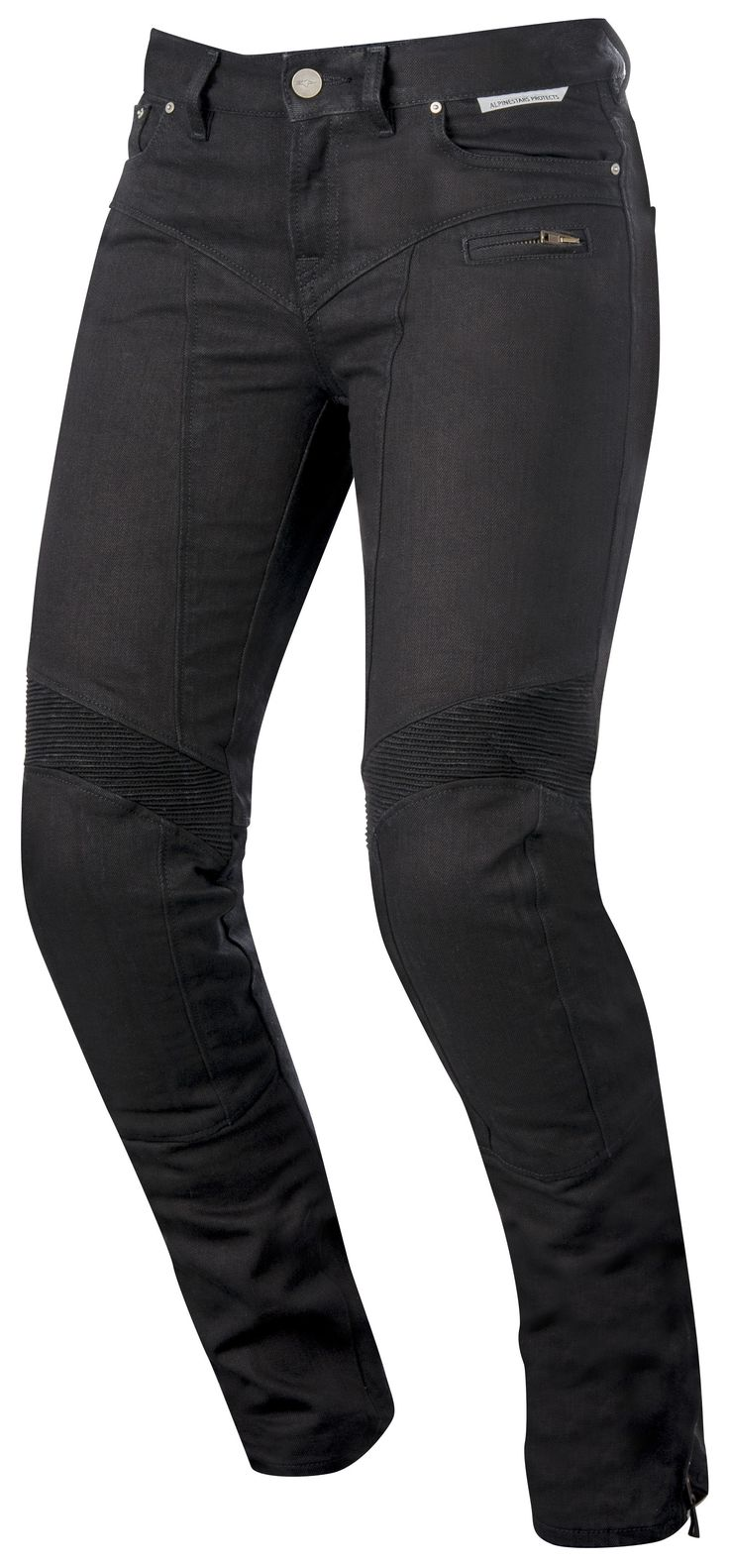 The Alpinestars Women's Riley Jeans are an artfully crafted technical riding pant for technical riders looking for race-like dynamics with urban style and fu...