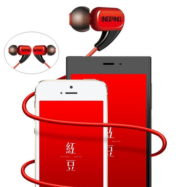 INGPING H60 Easy Takstar HIFI Music In-ear Headphone Earphone For Xiaomi Doogee UMI  Worldwide delivery. Original best quality product for 70% of it's real price. Buying this product is extra profitable, because we have good production source. 1 day products dispatch from warehouse. Fast...