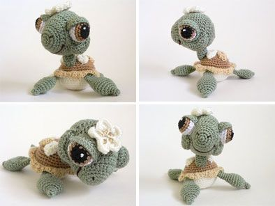 cutest crochet baby sea turtle ever!