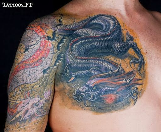 Download Free Western Dragon Tattoos For Men Dragon tattoos meanings and to use and take to your artist.