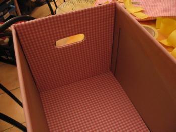 Boites de rangement recouverte de tissu tutoriel diy for Boite a couture casa