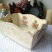 """Для дома и интерьера ручной работы. Ярмарка Мастеров - ручная работа Конфетница """"Sweet roses"""". Handmade."""