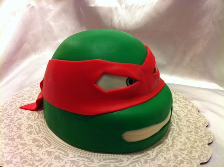 Teenage Mutant Ninja Turtle cake — Misc 3D Cakes