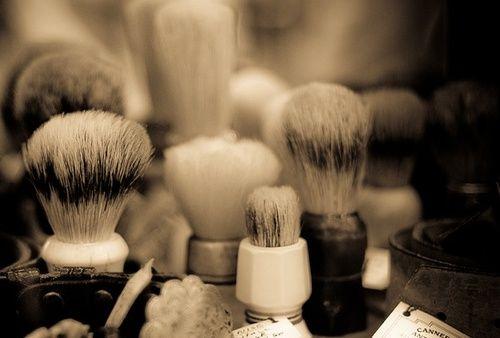 Shaving Brushes.