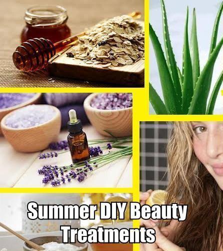 6 Simple Summer DIY Beauty Treatments