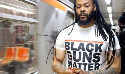 Murder is big business in Philadelphia. Last year, 280 corpses went to the morgue, as murder and non-negligent manslaughter. Law enforcement struggles to contain ethnically-based crime syndicates. It's a mess, but one man is trying to make a difference... in the most unusual way. His name is Maj Toure and he is 30 years old. Maj has organized a movement called Black Guns Matter. It isn't affiliated with Black Lives Matter.