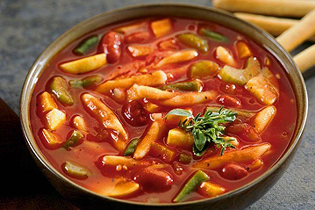 Soupe minestrone maison Image 1