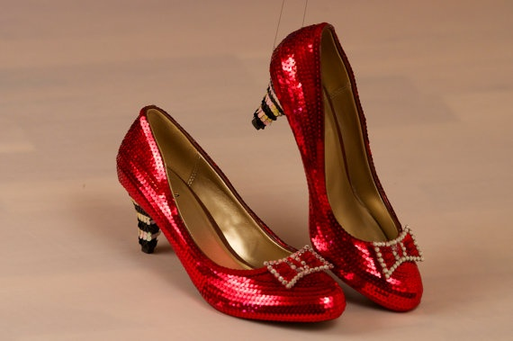 209 Best Ruby Slippers Images On Pinterest Red Shoes