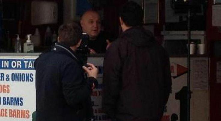 Chris Higgitt from Channel 5 TV show Blackpool Lights