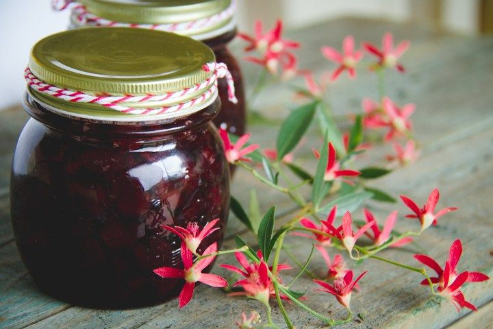 Sour Cherry Preserve | Country Life Experiment