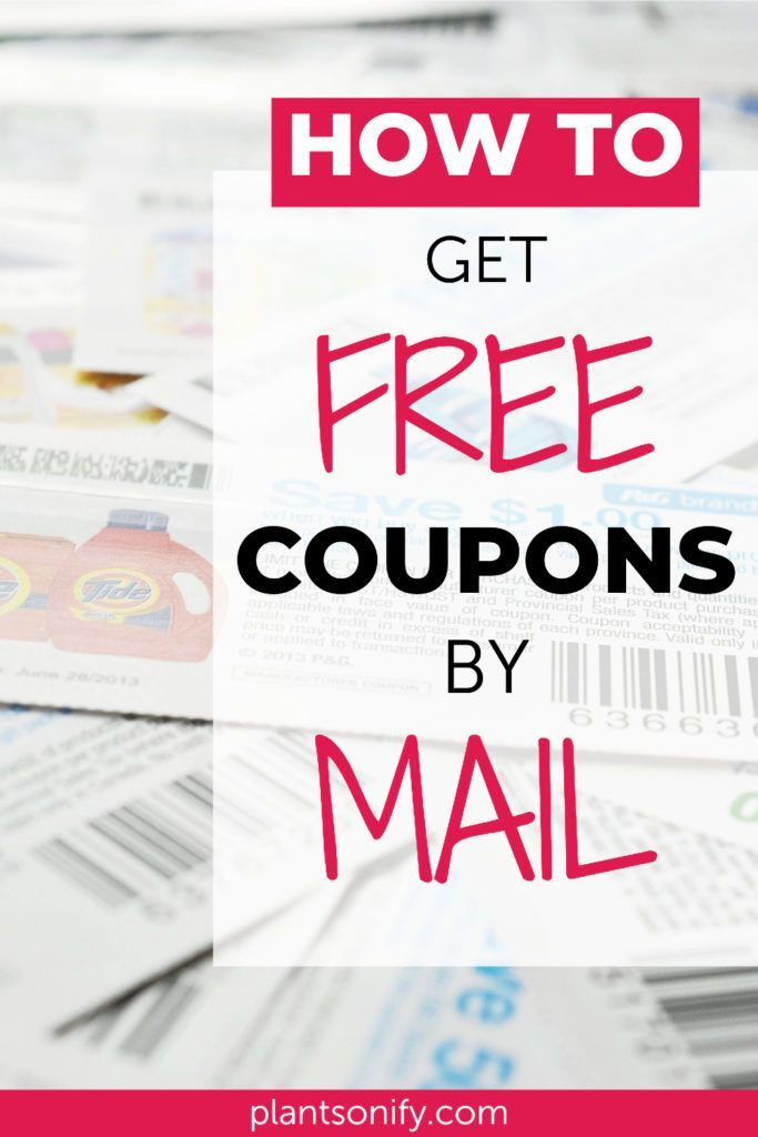 Real Ways To Get Tons Of Free Coupons In The Mail Free Coupons By Mail Coupons By Mail Free Coupons