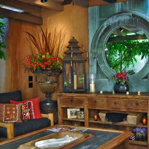 Moll Anderson's Southwestern home with tips on how she created a dream getaway space--and how you can too.